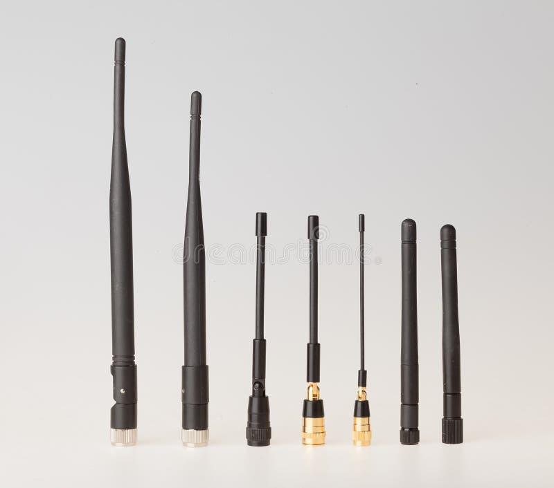 Антенны для различной частоты стоковое изображение
