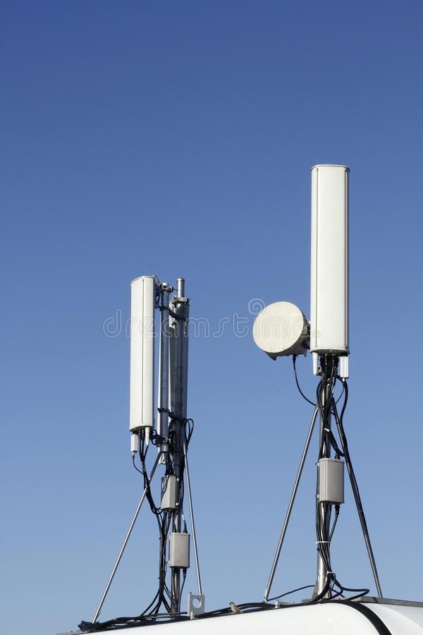антенны gsm стоковое фото rf