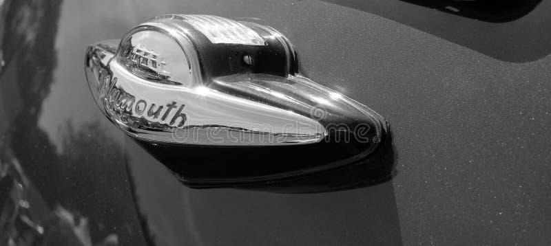 Античная американская деталь зада автомобиля стоковое фото