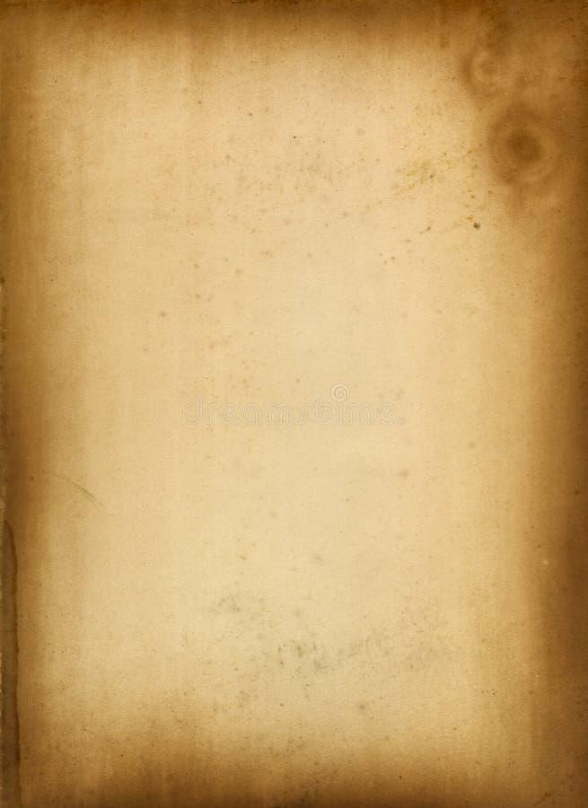 античная бумага иллюстрация штока