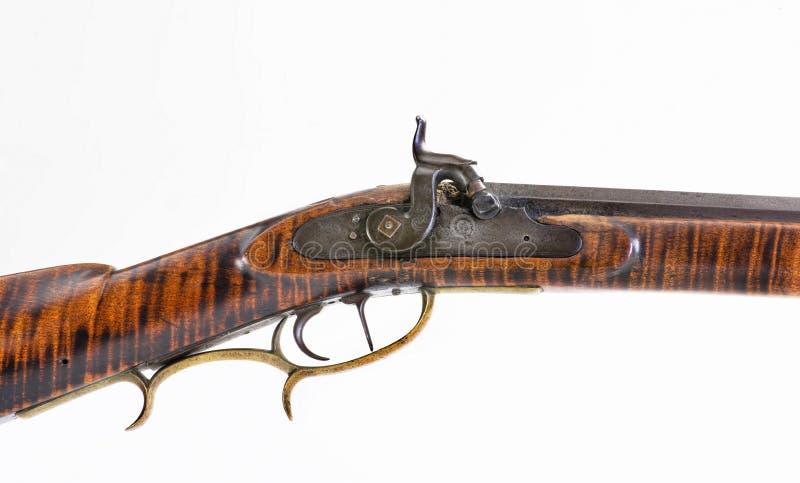 Античная винтовка горы стоковые фотографии rf