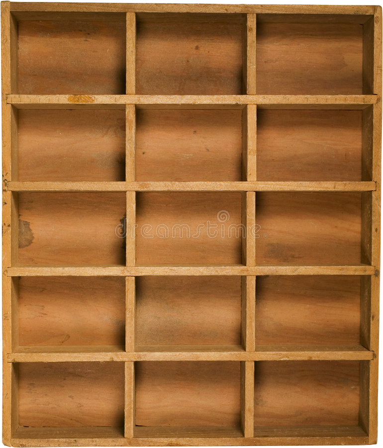 античная древесина коробки стоковые фото