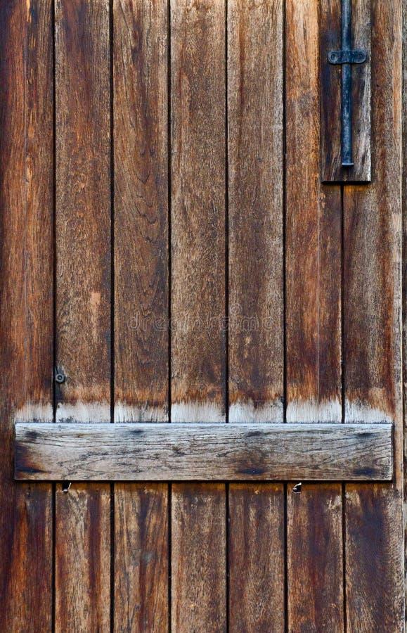 Античная деревянная предпосылка двери стоковые фото
