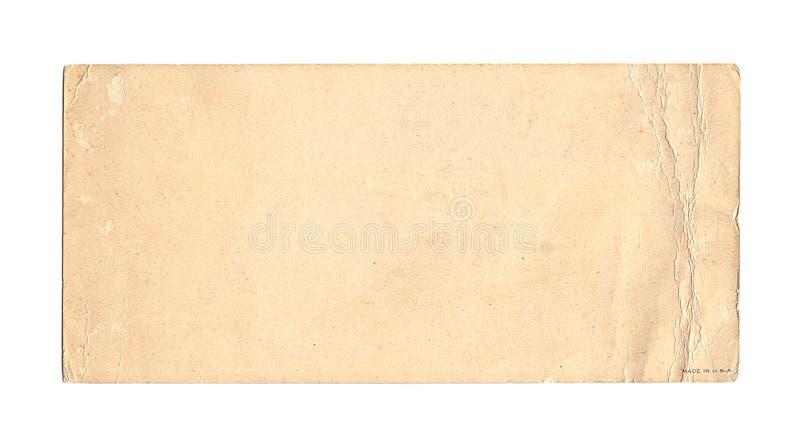 античная запятнанная бумага стоковое изображение rf