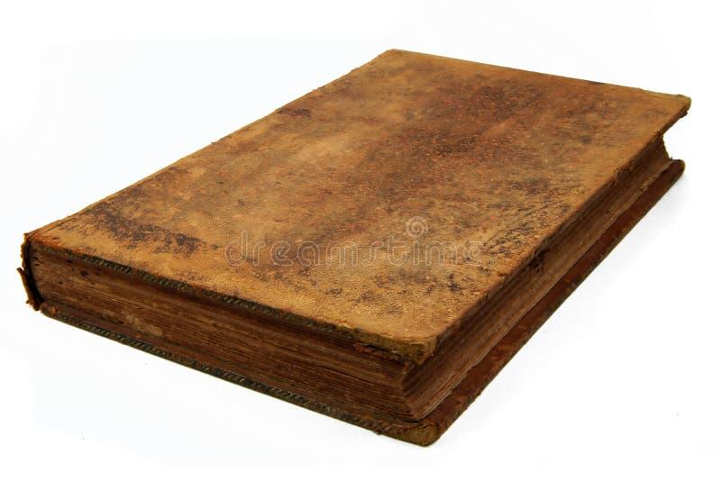 античная изолированная книга стоковое фото rf