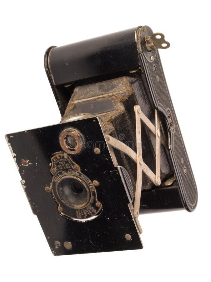 античная камера 1915 около складывая карманн стоковое фото rf