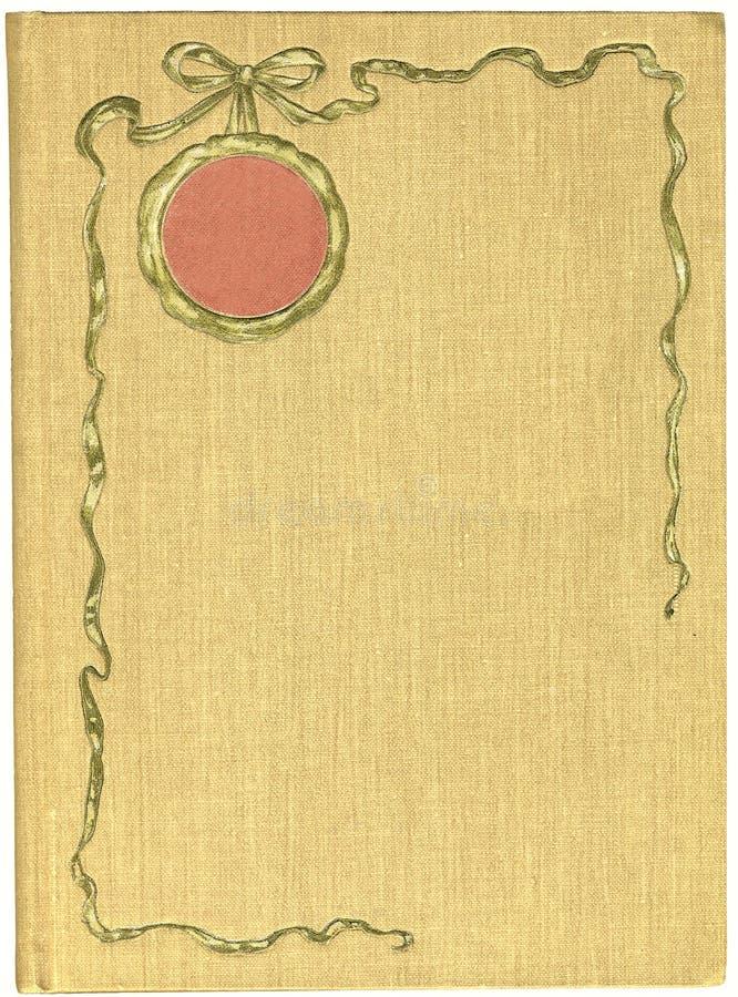 античная крышка книги иллюстрация вектора
