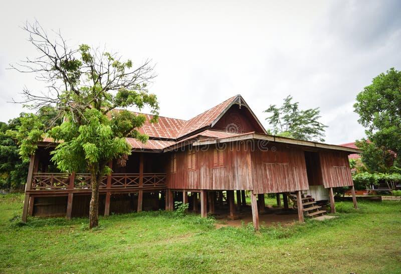 античная дом деревянная стоковое изображение rf