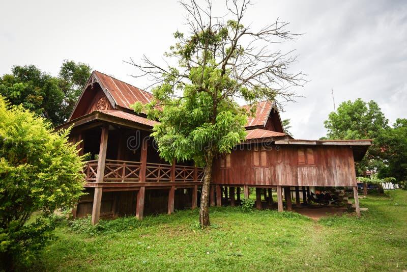античная дом деревянная стоковая фотография