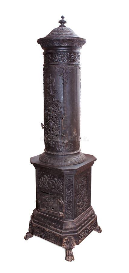 античная печка утюга стоковые изображения rf