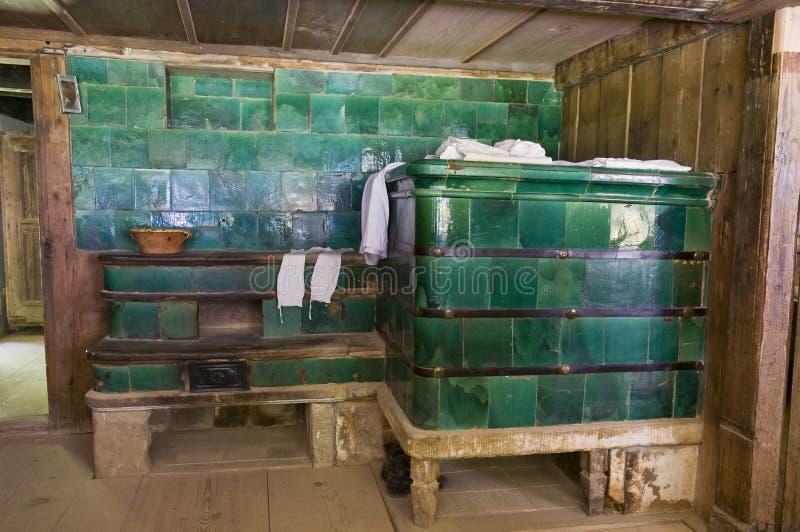 античная печка стоковое изображение rf