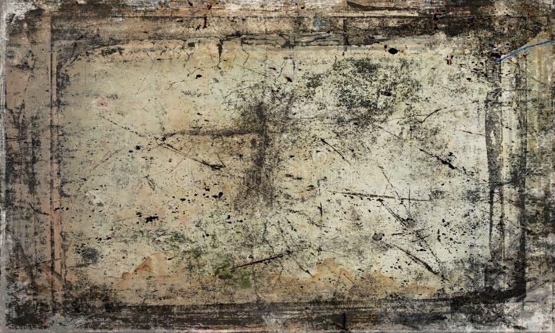 античная поцарапанная предпосылка стоковое фото rf