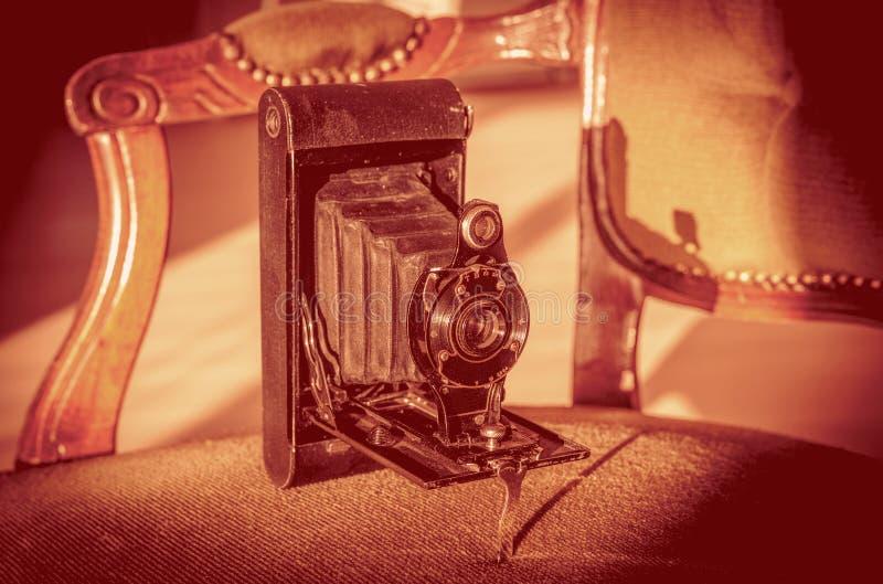 античная складчатость камеры стоковое фото