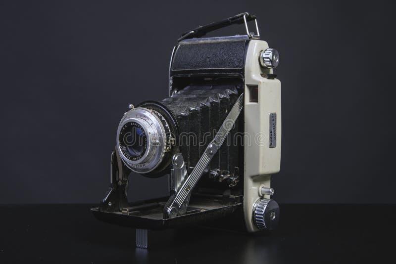 Античная старая камера стоковая фотография rf