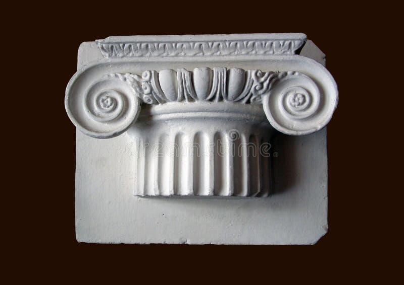 античная столица стоковая фотография rf