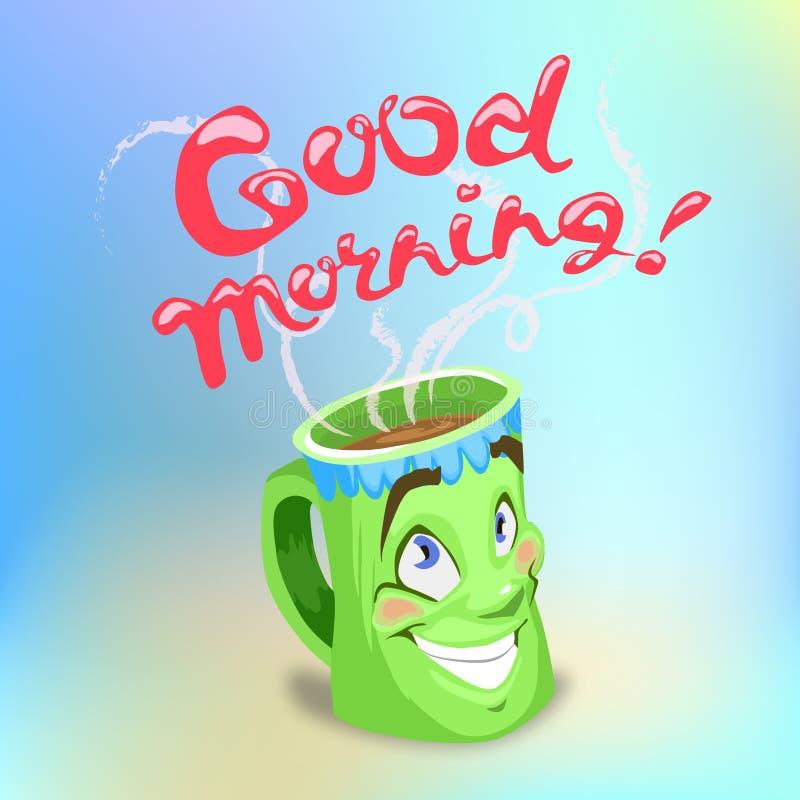 античная чашка подряда кофе дела фасонировала машинку места пер свежего доброго утра старую стоковые фото
