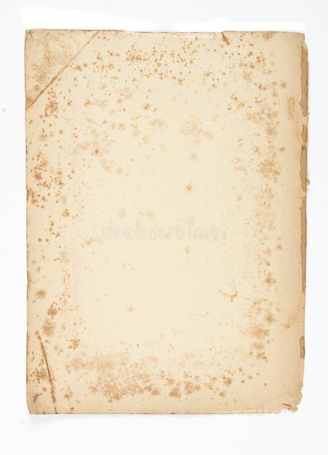 античная grungy бумага стоковая фотография