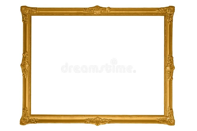 античное золото рамки стоковое фото rf