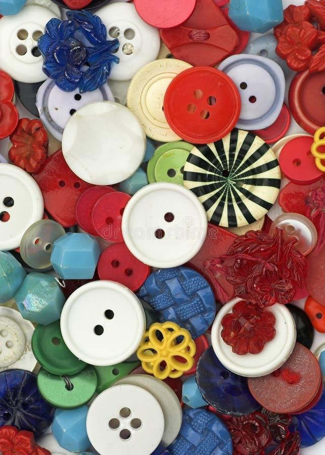 античные кнопки стоковая фотография