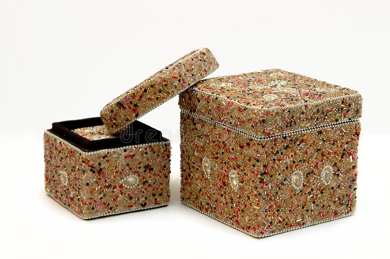 античные коробки стоковое фото rf