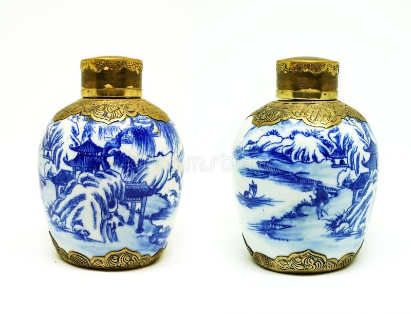 Античные опарникы китайца стоковое фото rf
