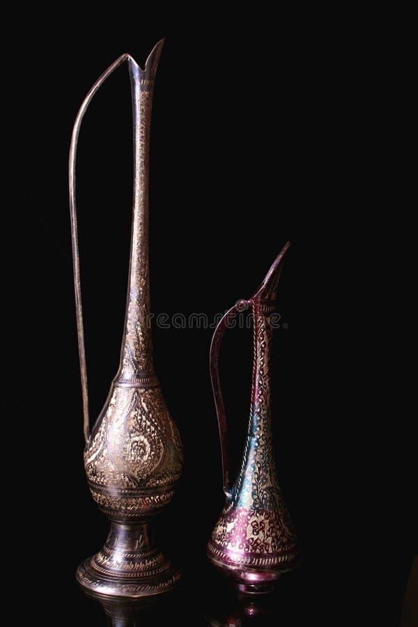 античные питчеры стоковая фотография rf