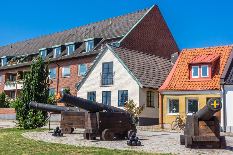 античные пушки стоковое фото