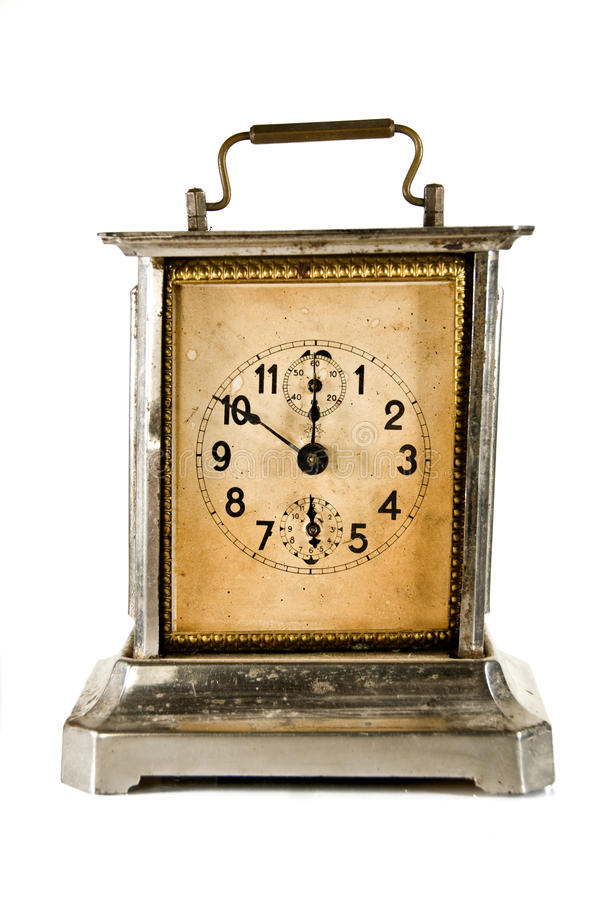 античные часы стоковое изображение
