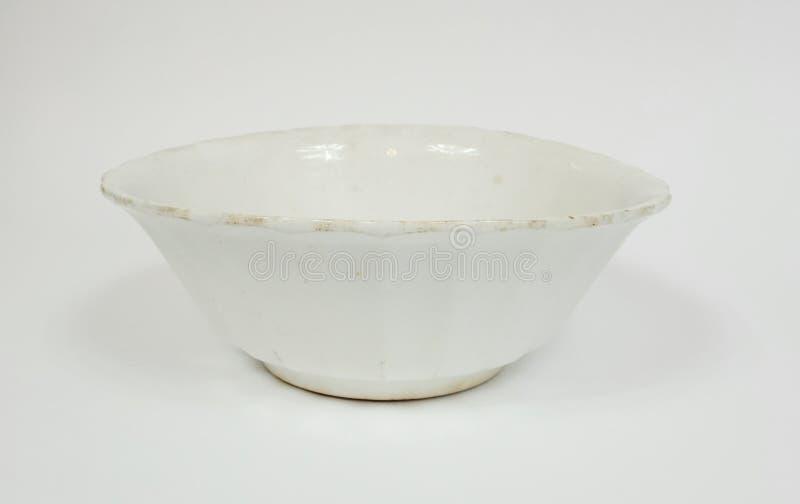 Античный белый смешивая шар стоковое фото rf