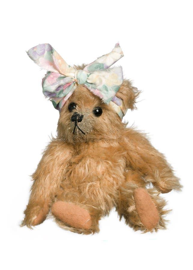 античный игрушечный медведя стоковая фотография