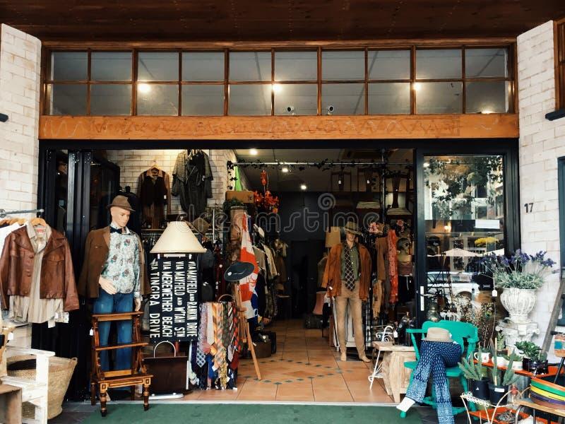 античный магазин стоковая фотография rf