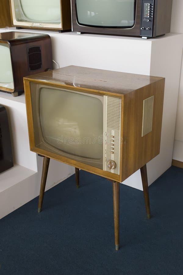 античный магазин tv стоковое фото