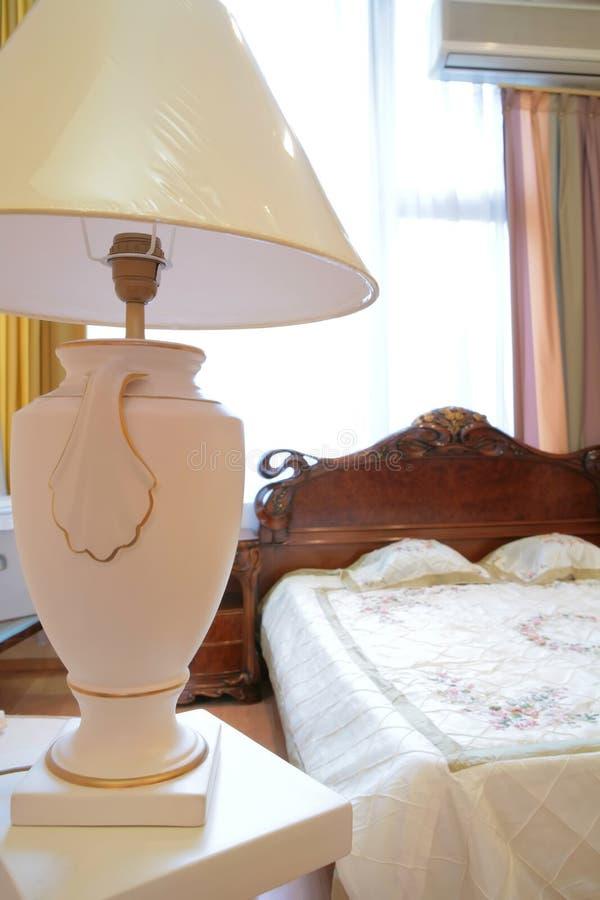 античный светильник спальни роскошный стоковые фото