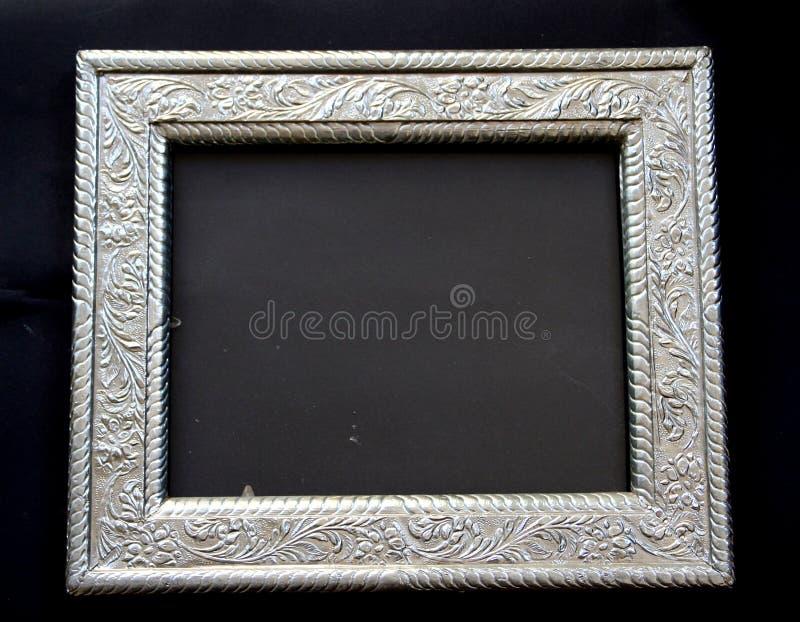 античный серебр рамки стоковые изображения