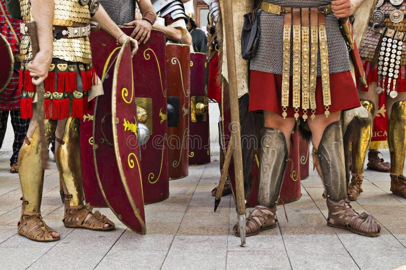 Античный фестиваль Tomis в старом городке Constanta - квадрата Ovidiu, Румынии стоковая фотография rf