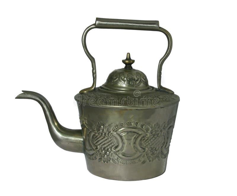 античный чайник стоковое фото