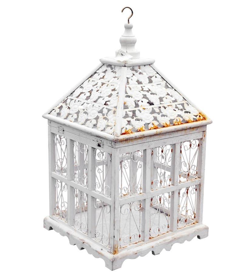 античный birdcage стоковое фото