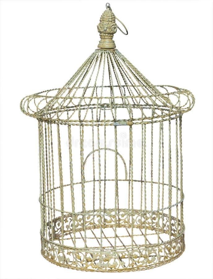 античный birdcage стоковые фотографии rf