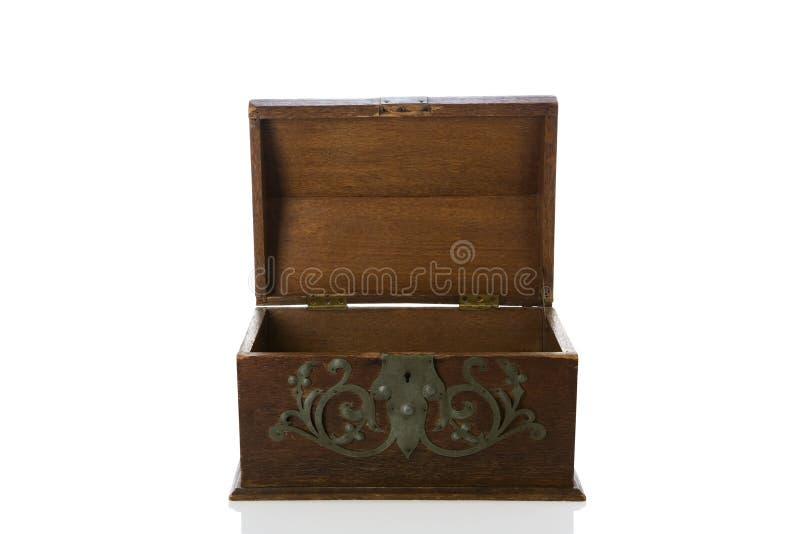 античный footlocker стоковая фотография
