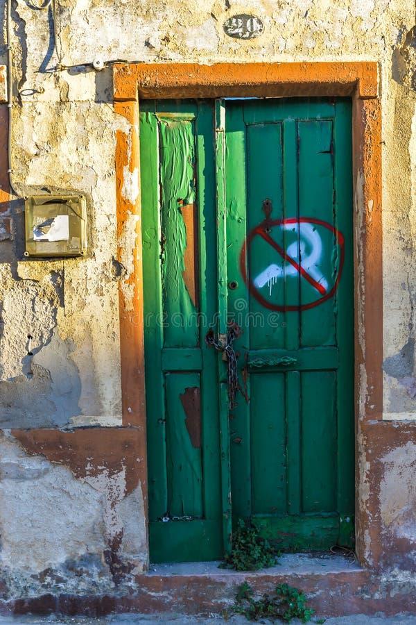Анти- коммунисты - Виго - Испания стоковые фото