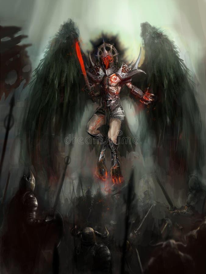 Анджел смерти бесплатная иллюстрация
