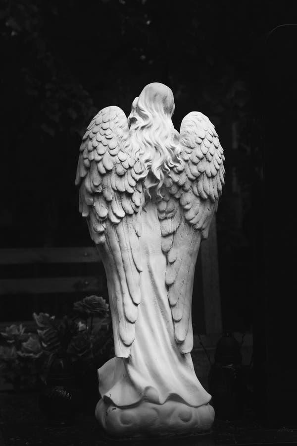 Анджел смерти стоковое изображение