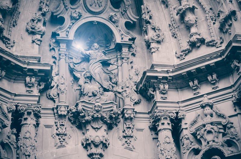 Анджел с взрывом света стоковое изображение rf