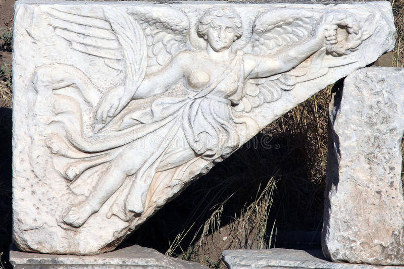 Анджел Ephesus стоковое изображение rf