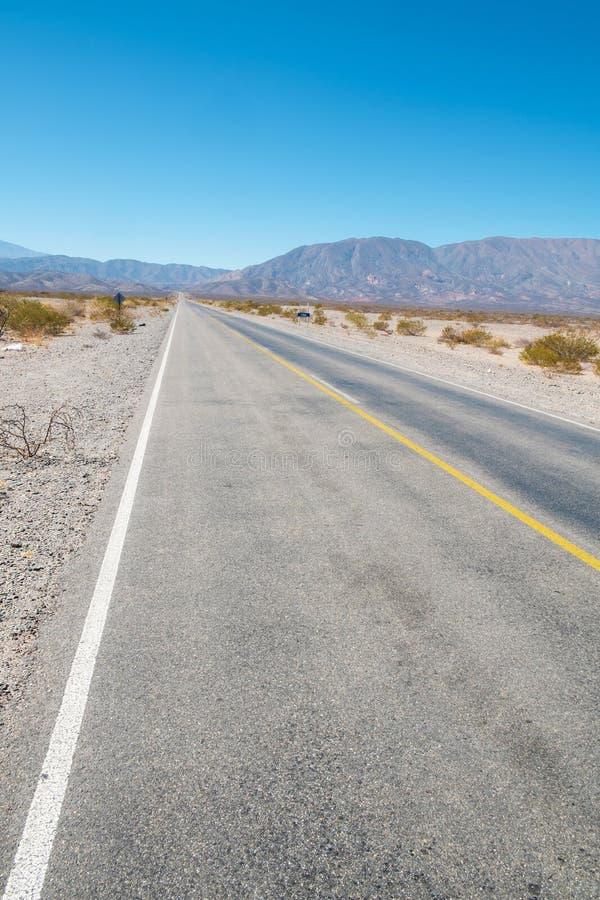 Андийская дорога стоковая фотография rf