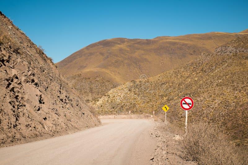 Андийская дорога стоковые фото