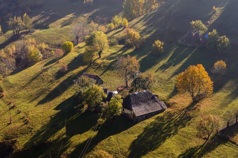 ландшафт Румыния осени стоковые фотографии rf