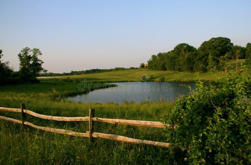 ландшафт сельский стоковое изображение rf