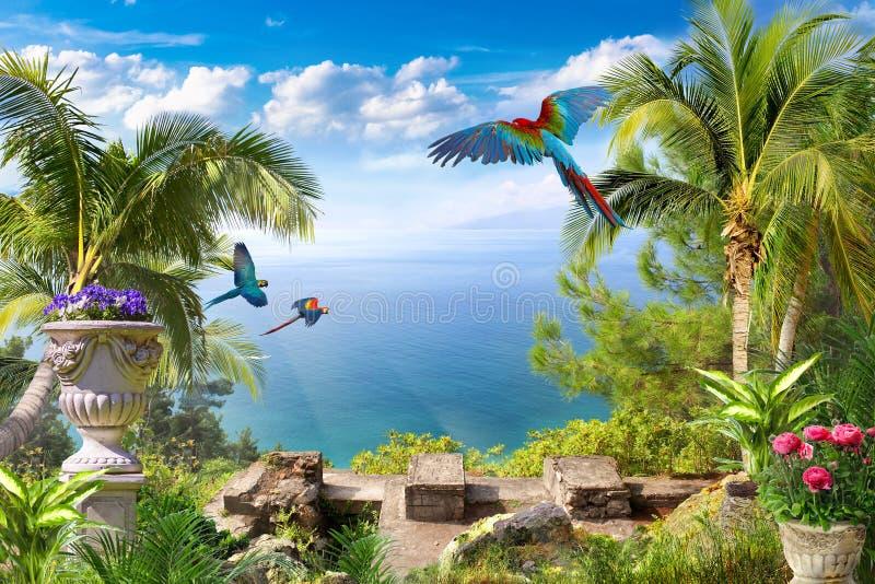 ландшафт тропический стоковое фото
