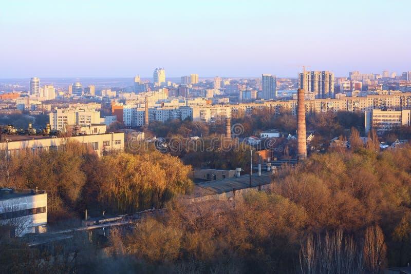 ландшафт урбанский dnepropetrovsk стоковая фотография